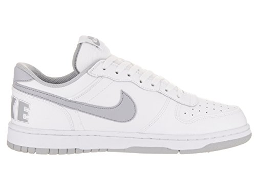 Nike Big Low, Chaussures de Sport-Basketball Homme Blanco (White / Wolf Grey)