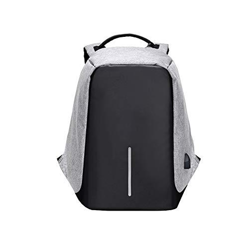 Xiton Kreativ Rucksack Multifunktions Laptop-Rucksack mit USB-Ladeanschluss große Kapazität Geschäftsleben Freizeit Rucksack Spielraum-Rucksacks (grau)
