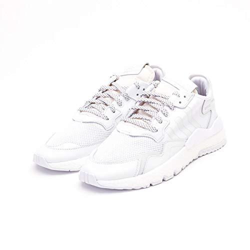adidas BD7676 White Size:10 - Street Sport Jogger