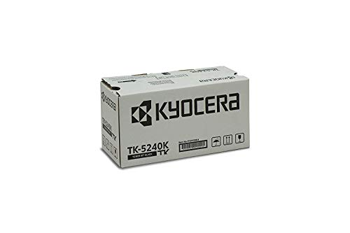 Kyocera TK-5240K Original Toner-Kartusche Schwarz, 1T02R70NL0. Für ECOSYS M5526cdn, ECOSYS M5526cdw, ECOSYS P5026cdn, ECOSYS P5026cdw -