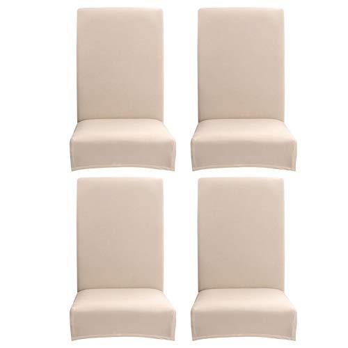 Demiawaking coprisedie con schienale elasticizzato sottile vestisedia universale fodere per sedie copertura della sedia per sala da pranzo casa hotel