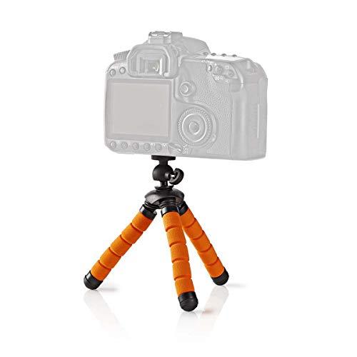 TronicXL 13cm Mini Tisch Kamera Stativ flexibel kompatibel für Canon Nikon Samsung Kodak Panasonic Sony Fuji Rollei Digitalkamera Kompaktkamera Camcorder Flexibles Kamerastativ Halterung Fotostativ