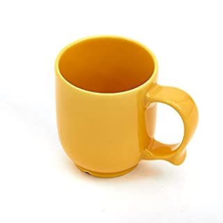 Ability Superstore Dignity by Wade One Handled Mug Yellow