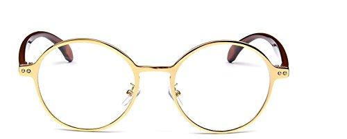 Embryform Korea retro runde Dose normalen Spiegel Nicht-Mainstream-Spektakel - Männer Sonnenbrillen Korea