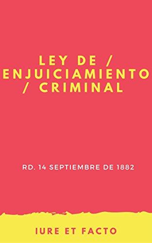 PDF Descargar Ley de Enjuiciamiento Criminal: actualizado