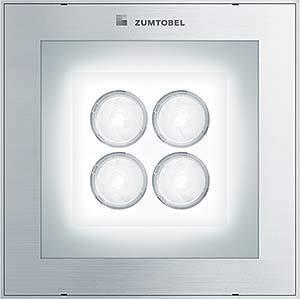 Zumtobel Group Bodeneinbauleuchte PASO2 Q190#60813735 4/2,5W LED860 SSP FB PASO II Bodeneinbauleuchte 4024318976990