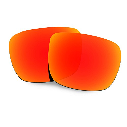 HKUCO Plus Mens Replacement Lenses For Spy Optic Helm Sunglasses Red Polarized