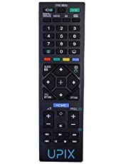 Upix® LCD/LED Remote, Compatible for Sony Bravia LCD/LED TV Remote Control (Black)