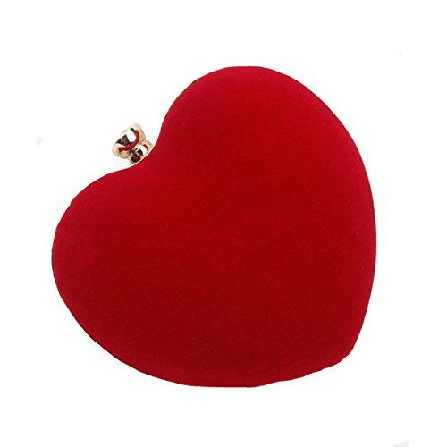 ZLMBAGUK - Borsa a tracolla donna Red Bag