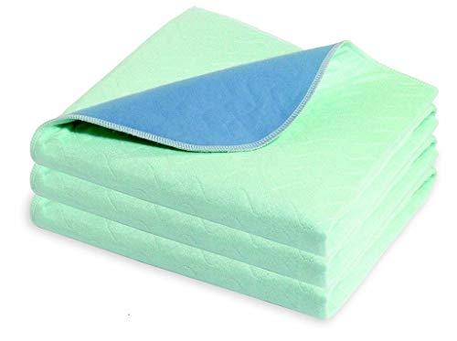 Community 75 x 90cm 3L waschbar wasserdichtes saugfähiges Bett Pad Einzelbett, Twin Pack
