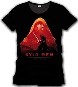 Cotton Division Tshirt Homme Star Wars VII - Kylo Poster - Legend Icon
