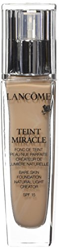 Lancôme Teint Miracle Bare Skin Foundation SPF15, 02 Lys Rose, 1er Pack (1 x 30 ml)