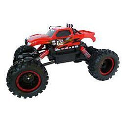 Remote Control 4WD Tri-Band Off-Road Rock Crawler RTR Monster Truck by Maisto TOY (English Manual)