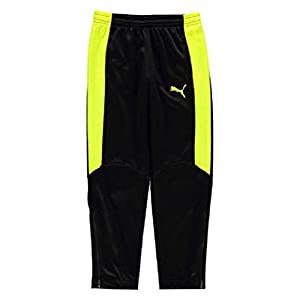 Puma Evo Training Boys Pants Junior Black/Yellow