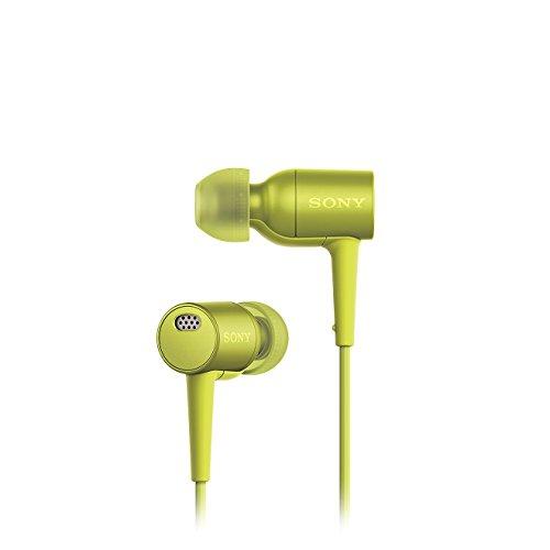 Sony MDR-EX750NA Cuffie Auricolari con Eliminazione Digitale del Rumore, Hi-Res Audio, Driver da 9 mm ad alta sensibilità, Bassi potenziati, Lime