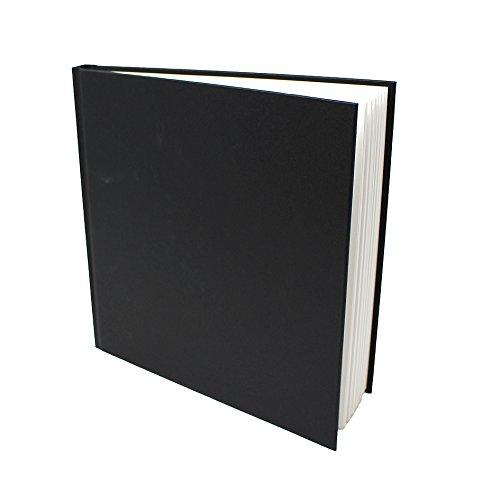 Artway studio - Quaderno da disegno brossato - Carta senza acidi - Copertura rigida - Portrait 170g/m² 48 pagine - 195mm Quadrato