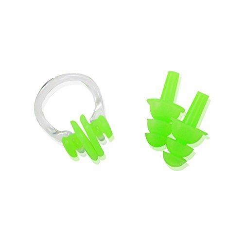 Isuper Set-Clips Nase und Ohrstöpsel für Schwimmen, Displayschutzfolie Nase und Ohren aus Weichem...