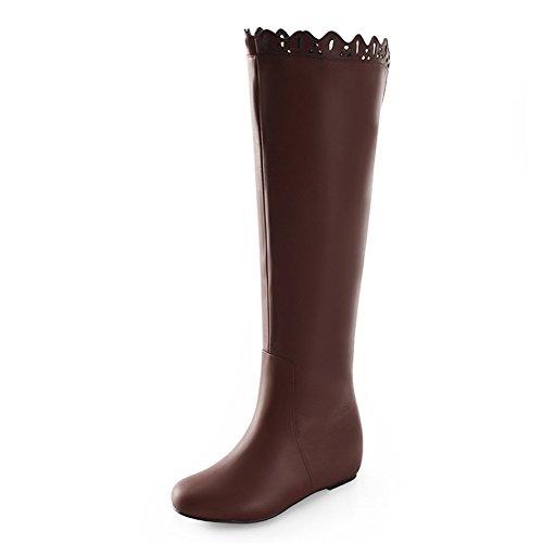 hiver fashion bottes pour dames/Bottes longues/ high boots/Chaussures de long ajouré B