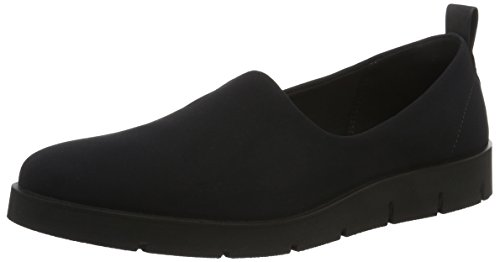 Bella Loafer (Ecco Damen Bella Slipper, Schwarz (51707black/Black), 42 EU)