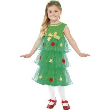KINDER-Little Christmas Tree Tutu KOSTÜM (Little Trees Kostüm)