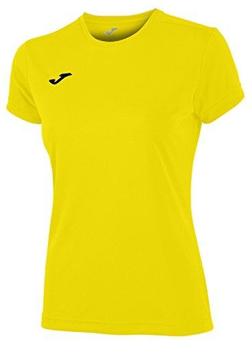 Joma 900248.900 - Camiseta para Mujer, Color Amarillo, Talla M