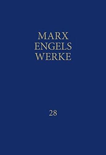 MEW: Werke, 43 Bände, Band 28, Briefe Januar 1852 bis Dezember 1855
