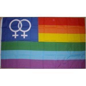 Arc-en-ciel Gay Pride pour femme Venus drapeau