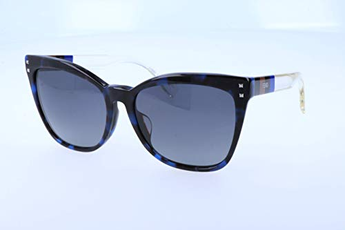 Fendi Damen Sonnenbrille, Blue, 57