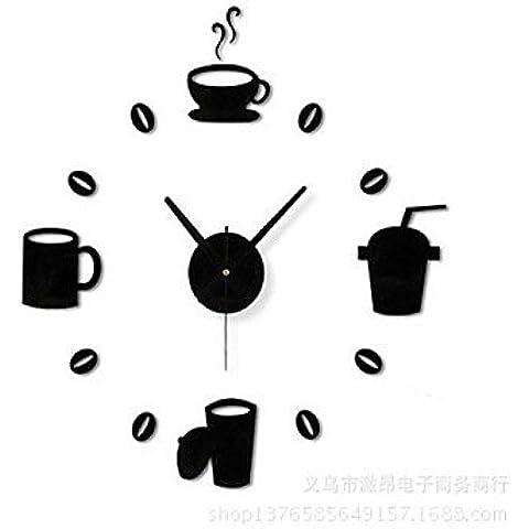 Orologio da parete–Modern/stile classico contemporaneo–plastica–a cerchio