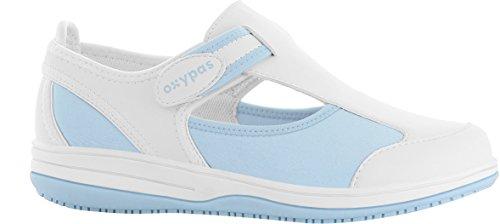excellent oxypas candy chaussures scurit femme blue lbl light blue jeu rel  jeu en ligne peu coteux confortable sites wiki rabais with chaussure  securite ...