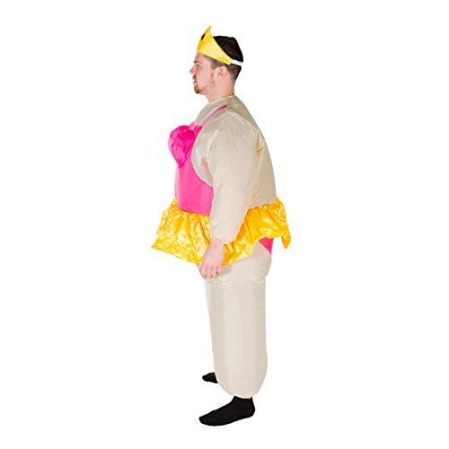 Imagen de hinchable bailarina adulto disfraz alternativa