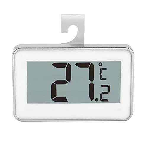 NUO Pantalla LCD Digital de precisión Termómetro del refrigerador del congelador de refrigerador Soporte...