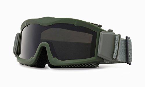 Interchangeable multi lentilles Kit Airflow tactiques Ventilé sécurité Lunettes Airsoft avec 3 lentilles (OD vert)