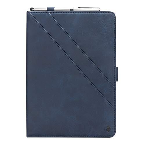 Samsung Galaxy Tab S3 9.7 T820 T825 Hülle, Prämie PU Leder Brieftasche Pouch Flip Hülle Hülle Anti-Scratch Defender HülleSeries zum Samsung Galaxy Tab S3 9.7 T820 T825 (Dark Blue)