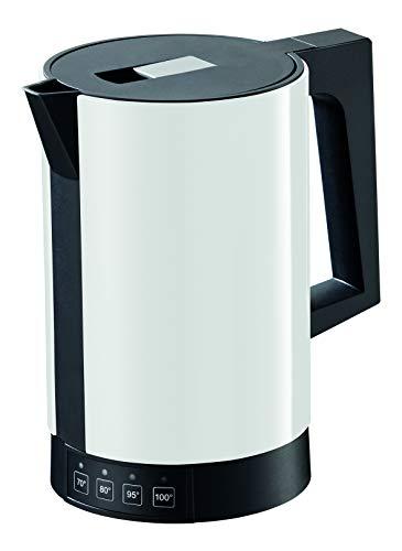 ritter Wasserkocher fontana 5, weiß, mit Temperatureinstellung, made in Germany - Deckel Mit Metall-krug