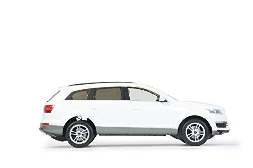 ferngesteuertes auto audi Jamara 400090 - RC Audi Q7 1:14, 27 MHz inklusive Fernsteuerung, weiß
