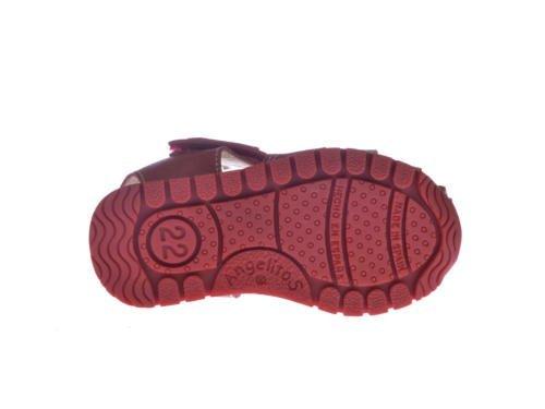 ANGELITOS , Jungen Sport- & Outdoor Sandalen Beige beige Rot