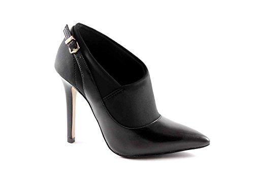 CAF NOIR MC106 chaussures noires femme dcollet tissu strech
