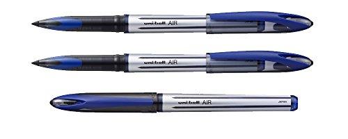 Pack Set di 3penne Uni Ball Roller Air Blu 0,7mm