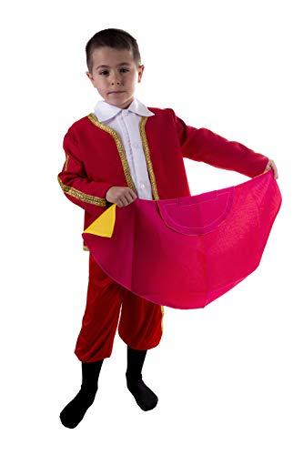 Torero Kind Kostüm - Costumizate! Kostüm Torero Verschiedene Größen für Kinder Kostümpartys oder Karneval