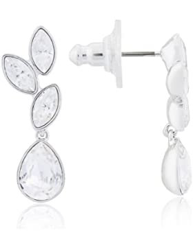 Swarovski Damen-Ohrhänger Metall Tranquility Kristall weiß rhodiniert 1179727