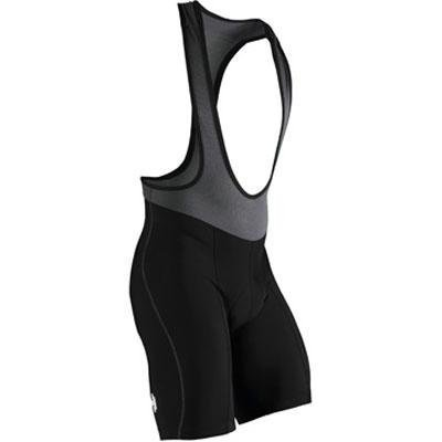 Descente Herren aero-x Bib Short Small schwarz (Descente Shorts Schwarz)