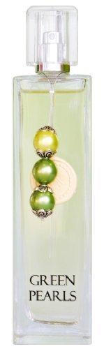100ml Greendoor Eau de Parfum EdP Green Pearls aus Bio Alkohol, Natur Parfüm für Damen mit drei Perlen und Siegellack, Naturkosmetik, Weihnachtsgeschenk Geburtstag Geschenke Geburtstags-Geschenk