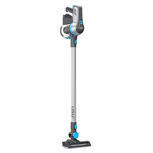 Vax TBTTV1B1 Cordless SlimVac 22.2 V Bagless Vacuum Cleaner, 0.6 L – Graphite Silver/Blue