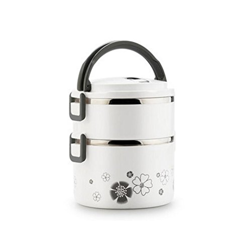 Liu Yu · da cucina, casa, picnic Home multi–Storey stainless steel lunch box grande–Capacità isolamento isolante pranzo scatole di inviare borse Posate da pasto C2 A3