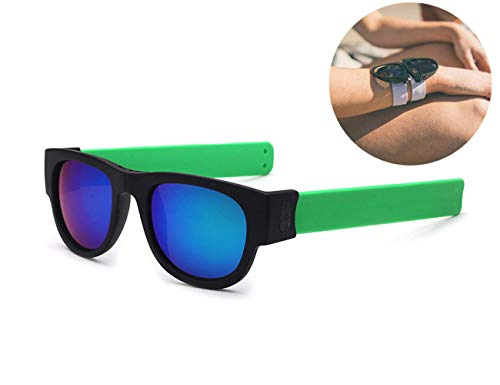 26365229a4 TUOTUO Gafas de Sol Polarizadas para Hombre Mujer, Súper Liviana Plegables  Lentes Deportivas Protección 100