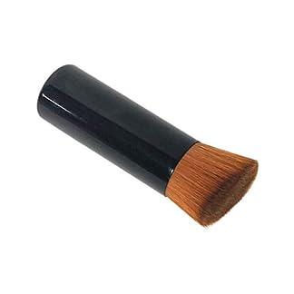 Posional Brochas De Maquillaje Foundation Cepillo De Base Tapa Plana Para Pulir, Puntear, Corrector Para Bases De Maquillaje Liquido Tradicionales Y Fluidas