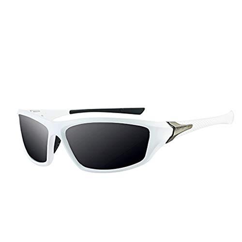 Sonnenbrillen Men Glasses Polarized Sunglasses Women Driving Shades Male Sun Glasses For Men Summer Mirror Goggle UV400 Gafas De Sol S-012 White
