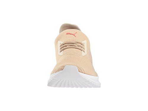 PUMA Women s Avid Evoknit Pebble Birch White 10 5 B US