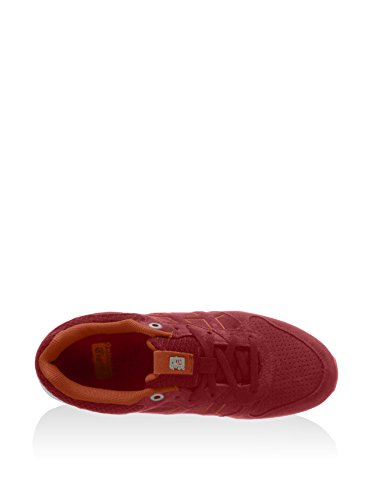 Asics Shaw Runner, Sneakers basses mixte adulte Rouge